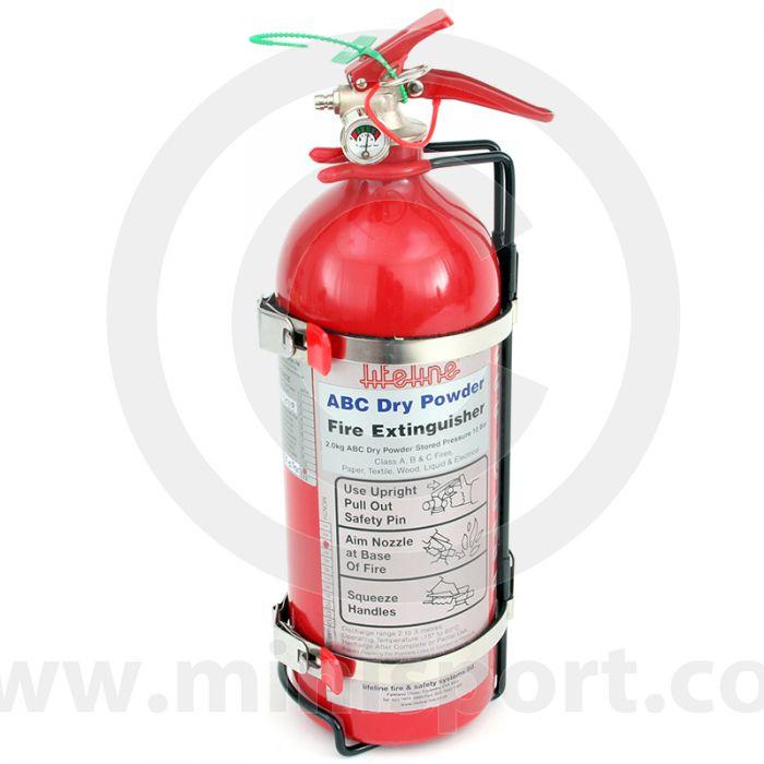 LIF202-100-101 Mini Fire Extinguisher by Lifeline