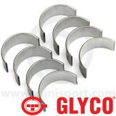 01-4313/4 Glyco big end bearings for Mini 998cc, 1098cc, Mini Cooper and Mini Cooper S engines.