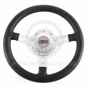 Cooper Leather Steering Wheel with Horn