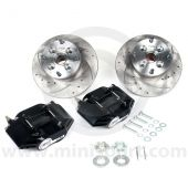 "MCPBRK.8.4S-B Mini Cooper 8.4"" Brake Kit with Black Alloy Calipers"