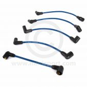 Blue - 7mm Silicone Spark Plug Lead Set 81-96