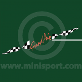 Mini Cooper Grand Prix Decal Kit - Sides & Boot