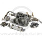 KAD1011300 KAD Mini 5 speed straight cut race gear set