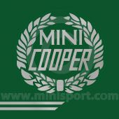 John Cooper Styling Kit - Laurels & Side Stripes - Silver