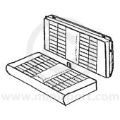Rear Seat Cover Kit - Vinyl - Mini Clubman Estate 70-80