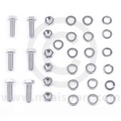 Rear back plate to radius arm fitting kit for Classic Minis