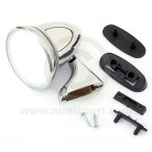 Adjustable Bullet Mirror - Chrome - LH