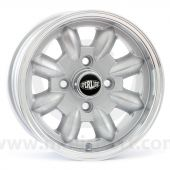 5.5 x 12 Superlight Wheel - Silver/Polished Rim