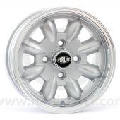 5.5 x 12 Superlight Wheel - Silver/Polished Rim