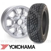 "Yokohama A539 sports tyre the perfect performance tyre for your Mini with 12"" wheels"