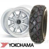 "6"" x 10"" Minator Silver Alloy - Yoko A032R Package"