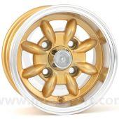 6 x 10 Minilight Wheel - Gold/Polished Rim
