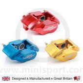 "Red 8.4"" Mini Sport Mini 4 Pot Alloy Calipers"