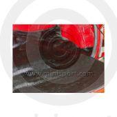 Boot Floor Mat - Black Hardura 1959-67
