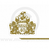 Mini Forty Decal Kit - Sides & Boot