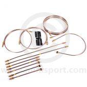 GL5002 Mini LHD Brake pipe set - Mini single line to August 1969