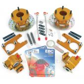 KAD1012070 Kad Mini rear brake disc and caliper conversion kit