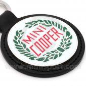 Mini Cooper Keyring featuring the Mini Cooper Laurel