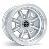 "5"" x 10"" silver Minator alloy wheel and Falken FK07E tyre package"