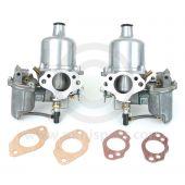 HS4 SU Twin Carburettor pair