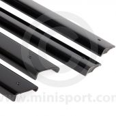 Charcoal Door Top Cappings set of 4 PMY516