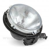 Headlamp Assembly - no rim with motor short lead Mini MPI (LHD)