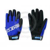 Mechanics Gloves - Sparco - Blue