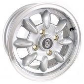 "5"" x 12"" silver/polished rim Ultralite alloy wheel and Yokohama A539 tyre package"