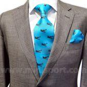 Spitfire tie & pocket square