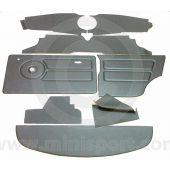12 Piece Interior Panel Kit for Oval Speedo - Mini Saloon 76-80