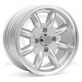 "6"" x 13"" Minilight Wheel in Silver"