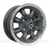 5 x 12 Minilight Wheel - Gunmetal/Polished Rim