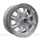 5 x 12 Minilight Wheel - Silver/Polished Rim