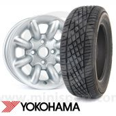 """165/60 R12  Yokohama A539 sports tyre the perfect performance tyre for your Mini with 12"""" wheels"""