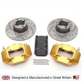 """8.4"""" Brake Kit with Alloy Calipers"""