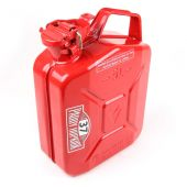 Steel Jerry Fuel Can in Red - Baylent Cap - Paddy Hopkirk Mini