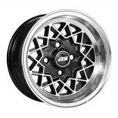 6 x 12 Rally Special Wheel - Black Hi-Lite