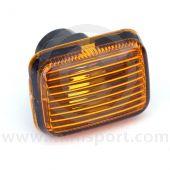 Mini Side Repeater Amber Lamp