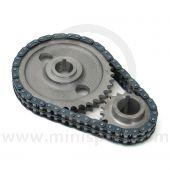 Mini Sport Duplex Timing Gear & Chain Set