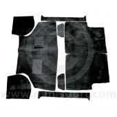 Deluxe Carpet Set - Black