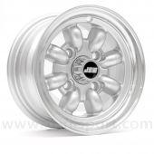 "Classic Mini 5"" x 10"" Minilight Wheel in Silver with Polished Rim"