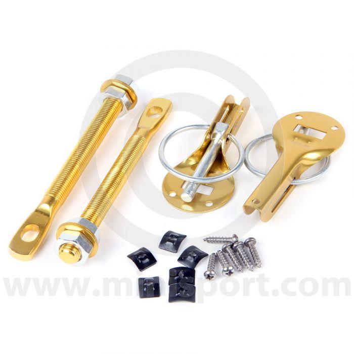Competition Lightwieght Mini Bonnet Pins - Gold