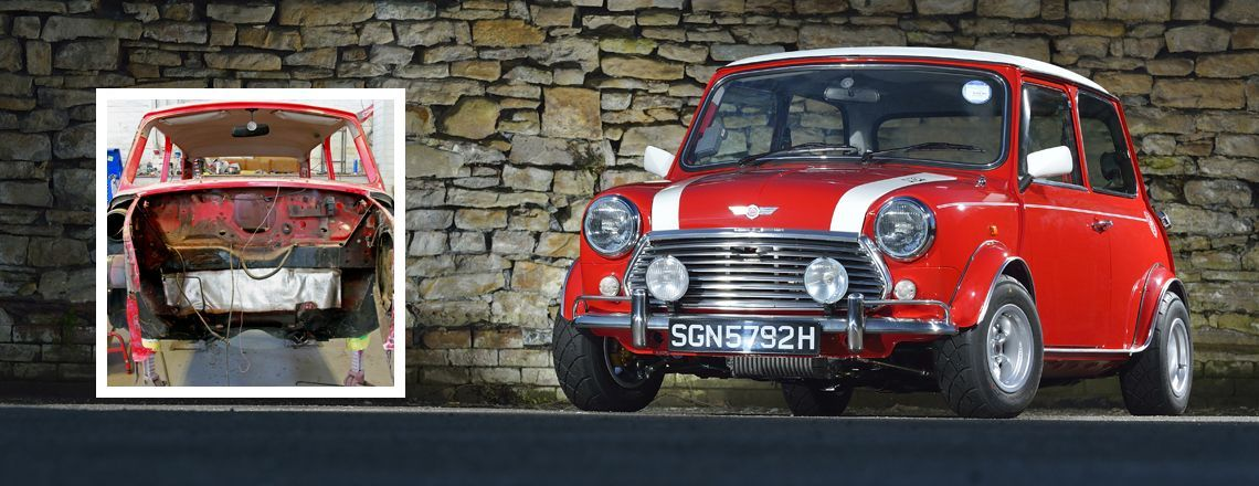 Mini Sport Mini Cooper Restoration
