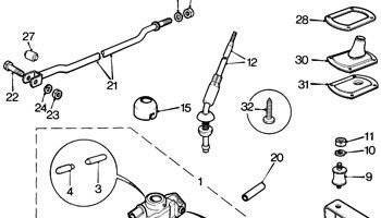 Gearbox Linkage - Rod Change